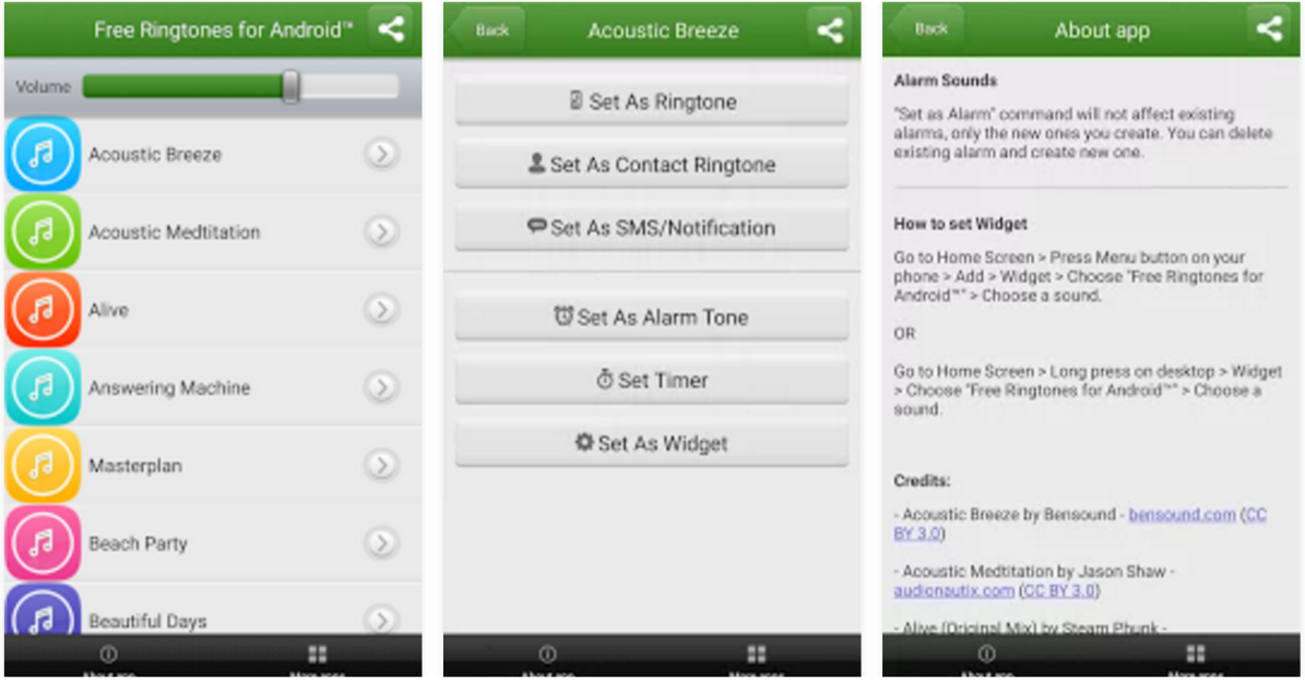 10 Best Ringtone Apps For Android Protractor