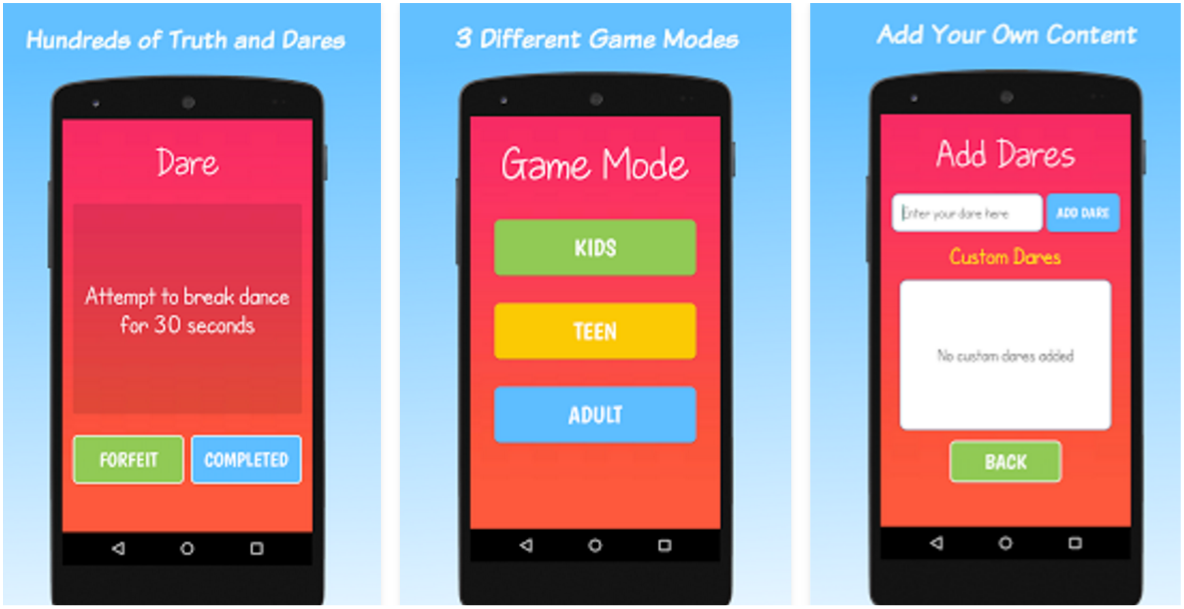 6 Of The Most-Fun Truth Or Dare Apps For Android | Protractor