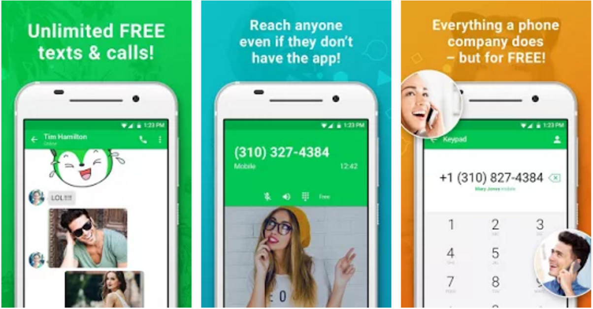This application happens to be the number one texting and calling app in  the Play Store. It offers completely free texting with the use of Wifi as  well as ...