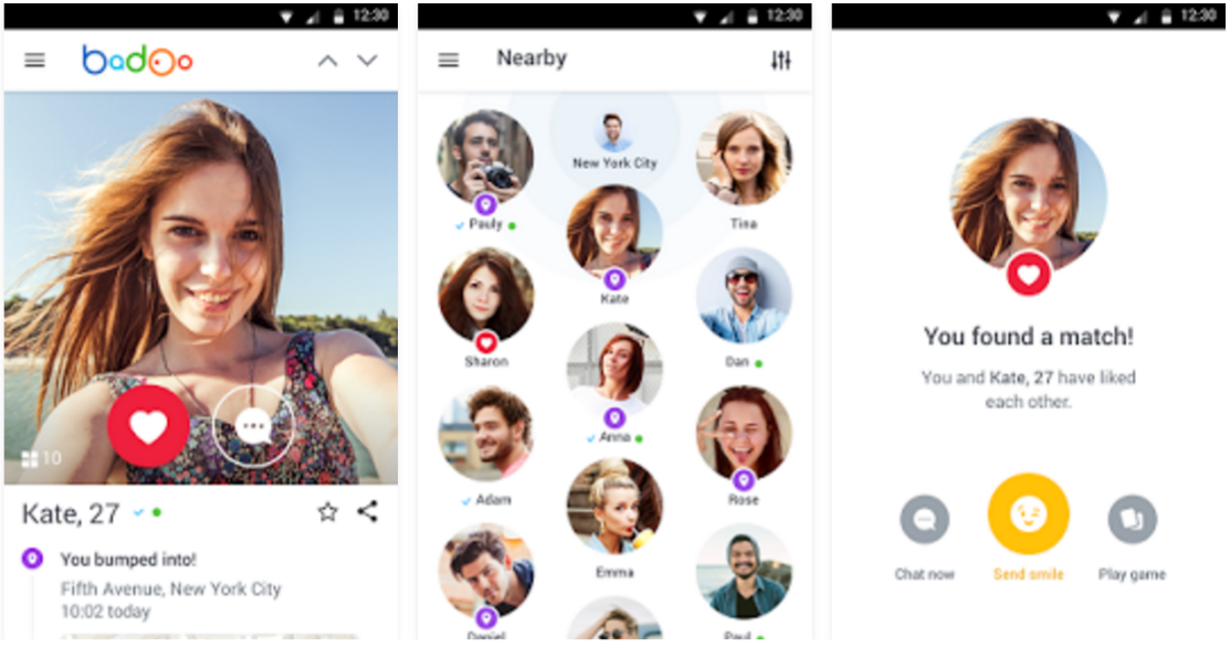 Tinder dating app su Android