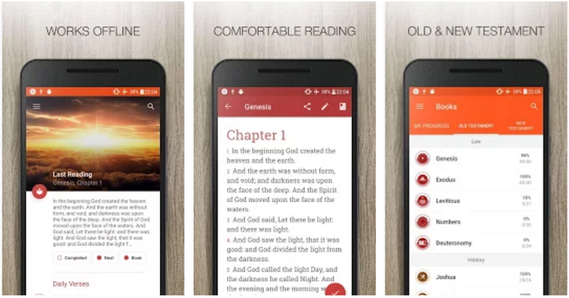 free bible apps for android phones